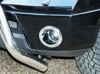 Nissan Navara D40 Mk1 Chrome Fog Ring Light Covers