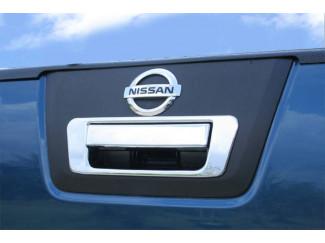Nissan Navara D40 Chrome Rear Door Handle Cover + Rim Set