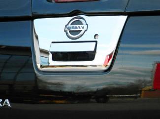 Nissan Navara D40 Chrome Tailgate Trim Large