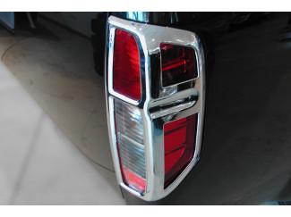 Nissan Navara D40 Chrome Tailight Surround Set