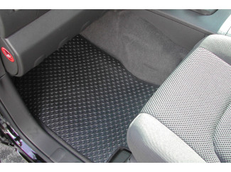 Nissan Navara D40 Double Cab Tailrd Mats With Under Seat Storage