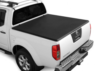 Nissan Navara D40 Double Cab Soft Folding Tonneau For Pickups With No Ladder Rack Fitted