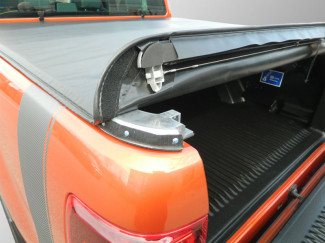 Nissan Navara D40 2005 On Double Cab Soft Roll-Up Load Bed Tonno Cover