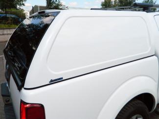 Nissan Navara D40 Double Cab Aeroklas Hard Top Canopy Commercial Blank Sided