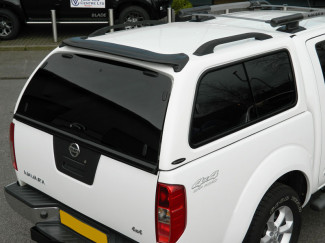 Nissan Navara D40 Double Cab Carryboy 560  Leisure Truck Top Canopy With  Side Windows