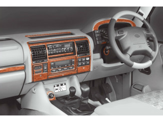 Landrover Discovery 3 And 4 99-05 Wood Look  Dash Trim Kit