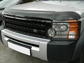 Landrover Discovery 2005-2010 Dark Smoke Bonnet Guard