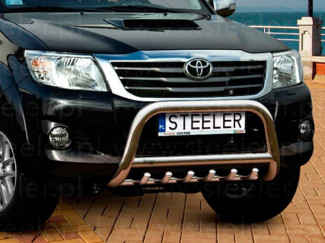 Toyota Hilux 2012 - 2016 Steel 70mm Bull Bar