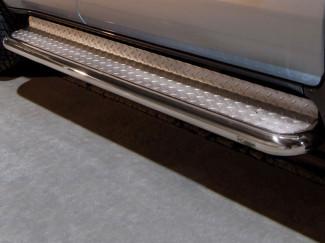 Stainless Steel 70mm Side Bars For Toyota Land Cruiser 120 03-09
