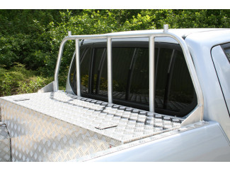 Alloy Ladder Rack Window Guard For New Isuzu D-Max 2012 On