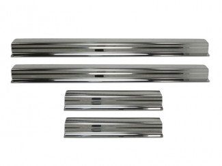 Stainless Steel Door Sill Guards Isuzu D-Max 2012 On