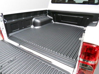 Isuzu D-Max 2012 Double Cab Truck Bed Liner Under Rail