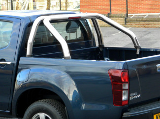 Stainless Steel Single Hoop Roll Bar For D-Max 2012 On