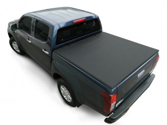 Isuzu D-Max 2012 On Double Cab Budget Tri-Folding Soft Tonneau Cover
