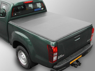 Isuzu DMAX 2012 on Extended Cab Soft Tonneau Cover Hidden Snapper
