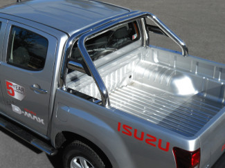 2012 Onward Isuzu D-Max Single Hoop Roll Bar With Horizontal Support Tubes
