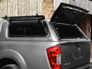 Nissan Navara NP300 Double Cab Aeroklas Hard Top With Lift Up Windows With Central Locking