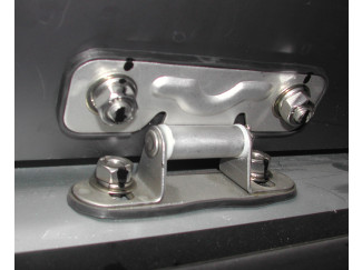 Aeroklas Canopy Stainless Steel Tail Gate Hinges (Pair)