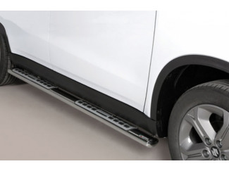 Stainless Steel Side Steps By Mach For The Suzuki Vitara 2015 Onwards
