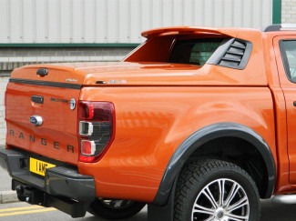 2012 On Ford Ranger T6 Double Cab Alpha SC-Z Full box Sports Tonneau Cover In Primer