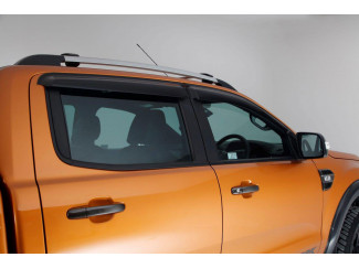 Ford Ranger T6 And 4 Trux Quad Window Deflector Visors Set Of 4