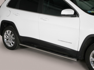 Misutonida Stainless Steel Side Bars For The Jeep Cherokee 2014 On