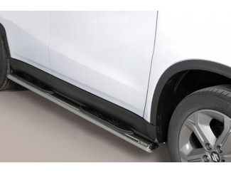 Oval Side Step Set For The Suzuki Vitara 2015 Onwards