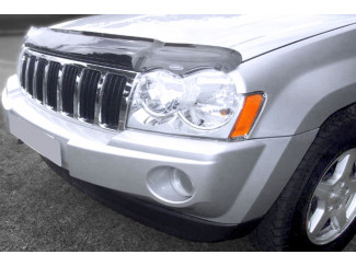 Jeep Grand Cherokee 2005 On Dark Smoke Bonnet Guard