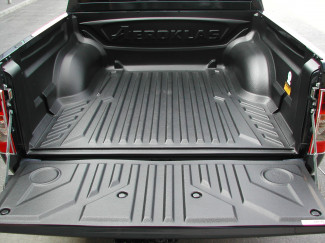 Rodeo Double Cab 2003-2011 Aeroklas Heavy Duty Pickup Bed Tray Liner Under Rail