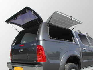 Toyota Hilux Alpha Commercial Gullwing Canopy In Colour Coded Finish