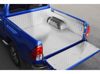 Toyota Hilux 2016 Onwards Double Cab Chequer Liner