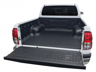 Toyota Hilux 2016 On Double Cab Truck Bed Liner Under Rail
