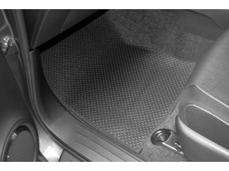 New Hilux 2016 On Tailored Floor Mats - Manual Transmission
