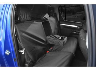 Tailored Rear Dark Grey Seat Cover For The Toyota Hilux 2016 On Active