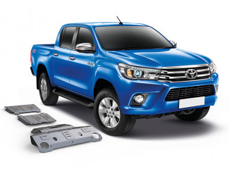 Toyota Hilux 16 Onwards Under Body Protection Set