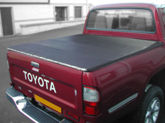 Toyota Hilux Mk4/5 Hidden Snap Cover No Ladder Rack Doudle Cab