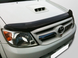Toyota Hilux 2005-2012 Dark Smoke Bonnet Guard
