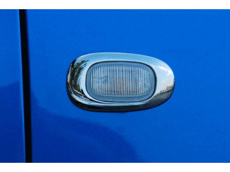 Toyota Hilux Mk6 Chrome Side Lamp Rim