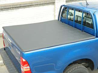 Toyota Hilux 6 Double Cab Soft Folding Tonneau With Ladder Rack