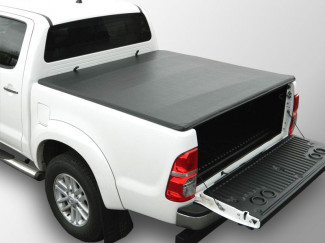 Toyota Hilux 2005 On Double Cab Soft Roll-Up Load Bed Tonno Cover No Ladder Rack