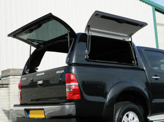 Toyota Hilux Mk6-7 Double Cab Carryboy Workman Top Canopy With Side Doors