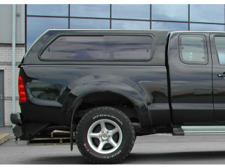 Toyota Hilux Extra Cab Aeroklas Hard Top Canopy Windowed