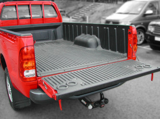 Toyota Hilux Mk6 Single Truck Bed Liner Over Rail