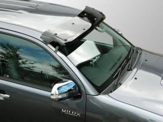 Toyota Hilux Mk6-7 Sunvisor Dark Smoke