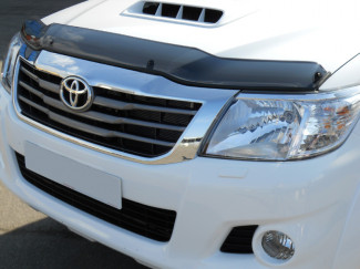 Toyota Hilux 2012 on Dark Smoke Bonnet-Bug Shield Protector