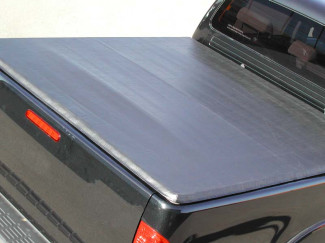 D40 Nissan Navara With C-Channels Double Cab Tonneau Cover With Hidden Snap Fastenings