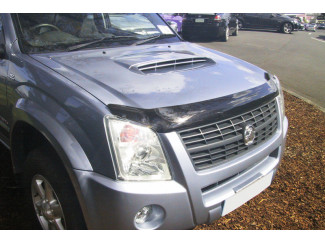Isuzu Rodeo 2007 On Dark Smoke Bonnet Guard
