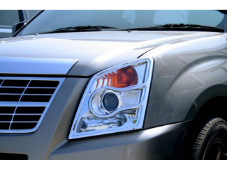 Isuzu Rodeo Mk2 Chrome Head Lamp Covers