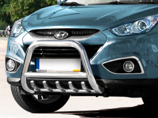 Hyundai IX35 2012 Onwards Stainless Steel Bull Bar EU Approved