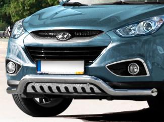 Hyundai IX35 2012 Onwards Stainless Steel Spoiler Bar EU Approved
